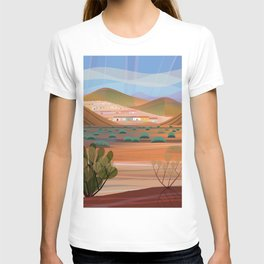 Copper Town (Square) T-shirt
