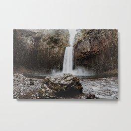 Abiqua Falls Metal Print