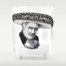 "Vicente ""Chente"" Fernandez Gomez Shower Curtain"