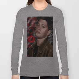 Jensen Ackles (Dean Winchester from Supernatural) Long Sleeve T-shirt
