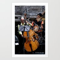 band Art Prints featuring Band by AmAnthrAss