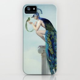 Secrets And Feathers iPhone Case