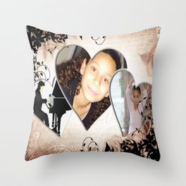 Talented 2 Throw Pillow