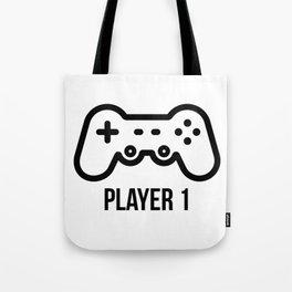 Player 1 Tote Bag