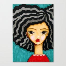 """frankie"" Canvas Print"