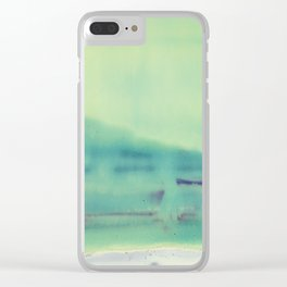 Pure Chemistry 13 Clear iPhone Case