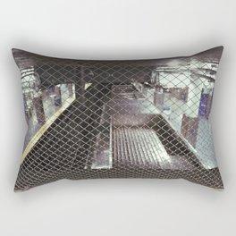 above the 2nd st el Rectangular Pillow