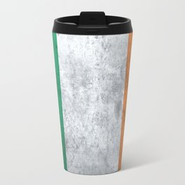 Distressed Irish Flag Travel Mug