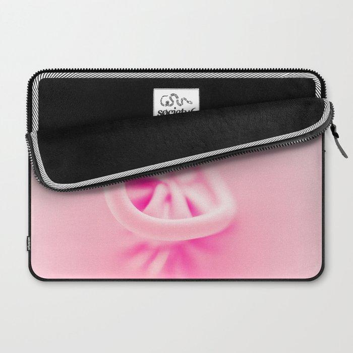 Pastel Pink Balloon Laptop Sleeve