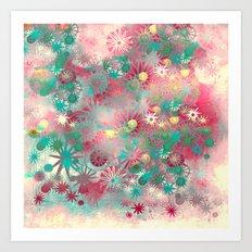 flower joy Art Print