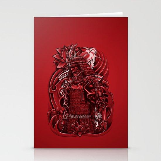 Samurai Koi Stationery Cards