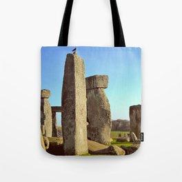 Raven and Ruins Tote Bag