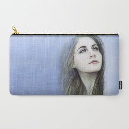 Self - Female digital art painting portrait Carry-All Pouch