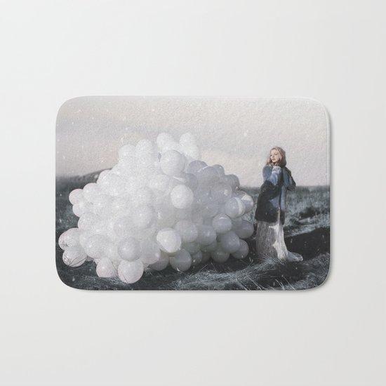 Balloon storm Bath Mat