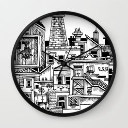 New Town New Wall Clock