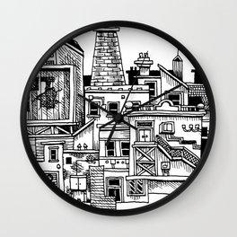 New Town New Wall Clock