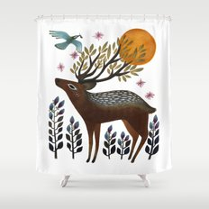 Design by Nature Shower Curtain