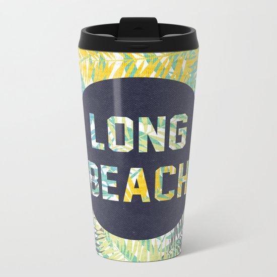 Long Beach Metal Travel Mug
