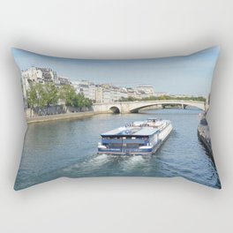 Seine River Rectangular Pillow