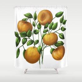 Bouquet of tangerine Shower Curtain