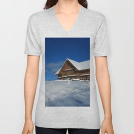 Winter House Unisex V-Neck