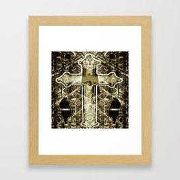 CROIXMOI Framed Art Print