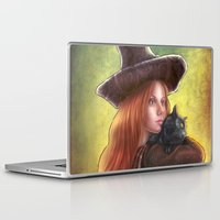 witch Laptop & iPad Skins featuring Witch by Miguel Angel Carroza