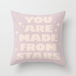 star formed Throw Pillow