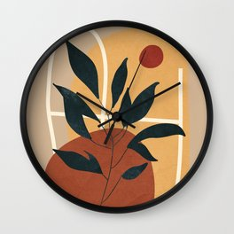Abstract Shapes No.16 Wall Clock