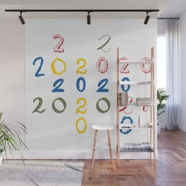 New Year 2020 Wall Mural