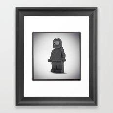 He's Seen A Million Miles Framed Art Print