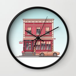 The Roving Gambler Wall Clock