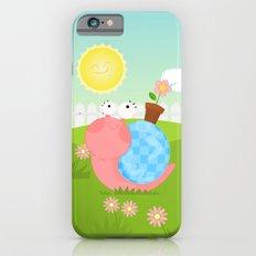 Pink Snail (female) iPhone 6s Slim Case