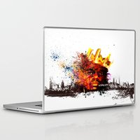 notorious Laptop & iPad Skins featuring Notorious B.I.G by kobymartin