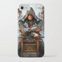 assassins creed iPhone & iPod Cases featuring Assassins Creed by Tom Lee
