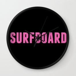 Surfboard Yeonce Wall Clock