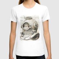 scuba T-shirts featuring scuba diving by Luiz Fogaça