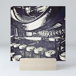 speed test {purple Mini Art Print