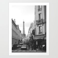Rue St Dominique Art Print