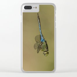 Dragonfly Fly-by Clear iPhone Case