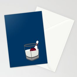 Hey, careful, man, there's a beverage here!  Stationery Cards