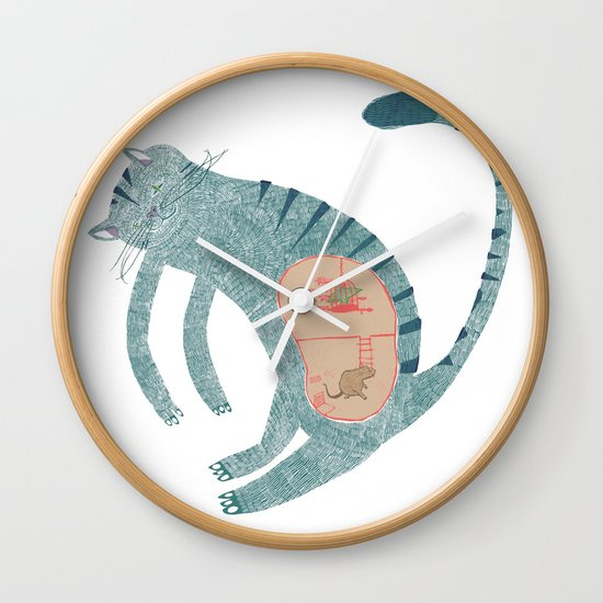internal conspiracy Wall Clock