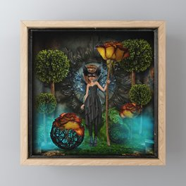 Guardian in the Forest Framed Mini Art Print