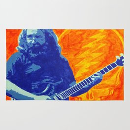Jerry Garcia - The Grateful Dead Rug