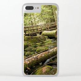 McKenzie River Trail No 1 Clear iPhone Case