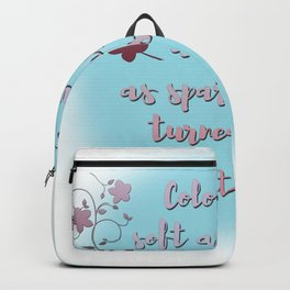Trapped into stars   Caraval Backpack