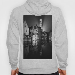shot on film .. belfry night reflection Hoody