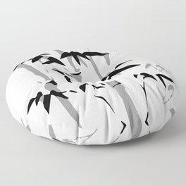 Oriental Beauty Floor Pillow