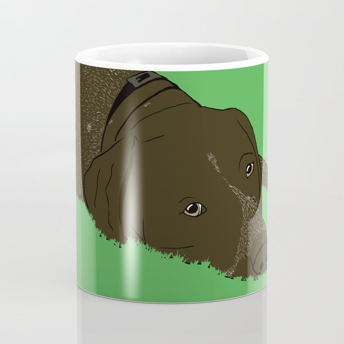 Gunner the German shorthaired pointer Coffee Mug