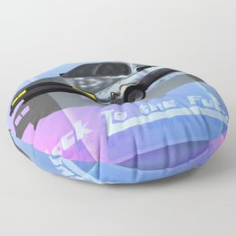 Back to the Future Floor Pillow